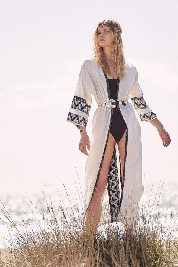 Celia Dragouni -The Kimono Robe