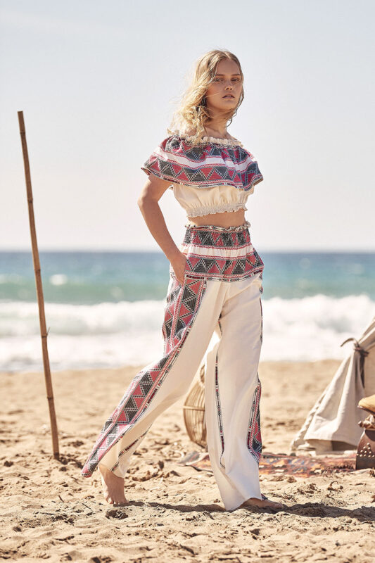 Celia Dragouni The Woven Hippie Pants