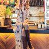 Celia Dragouni Yellow Dandelion Dress