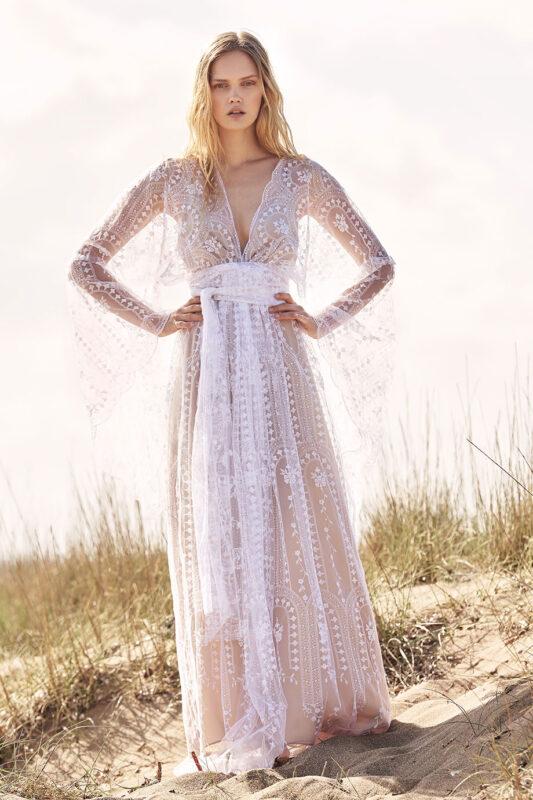 Celia Dragouni Lacy Dream Wedding Dress