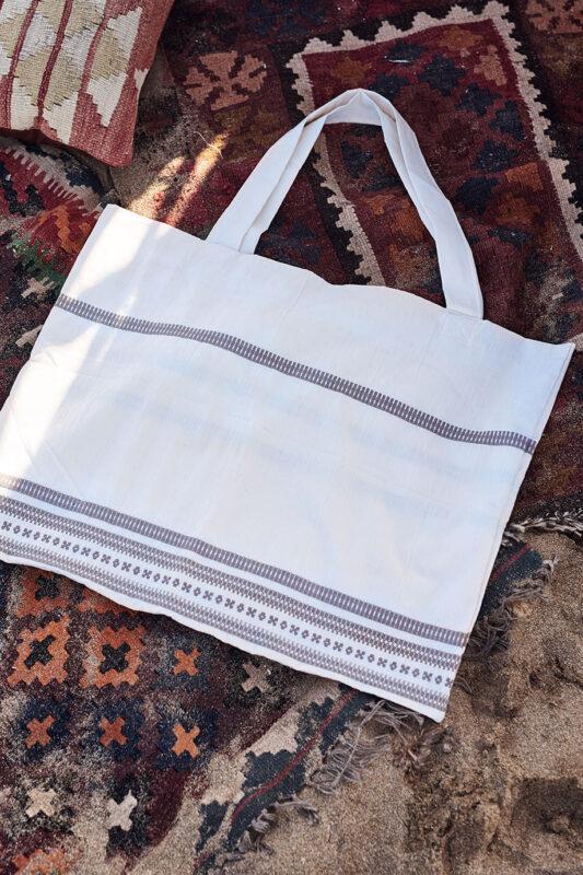 Celia Dragouni Woven Bag