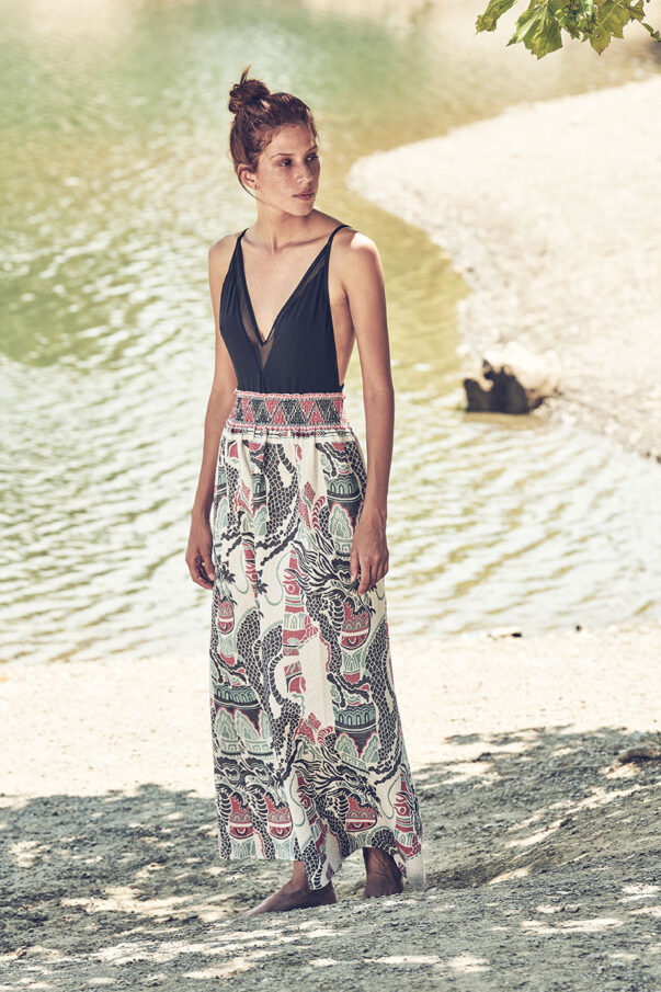 Celia Dragouni Dragon Twist skirt