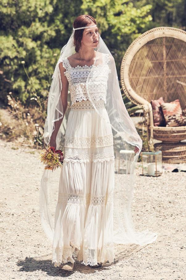 Celia Dragouni Florence Beauty wedding set