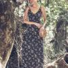 Celia Dragouni Flowery Maxi dress