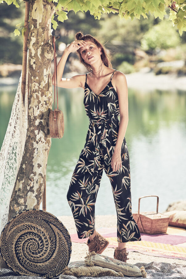 Celia Dragouni Tropical Vibes Jumpsuit
