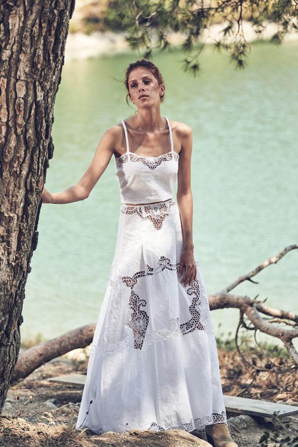 Celia Dragouni White Fields deux pieces