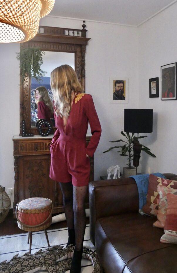 Celia Dragouni The Bordeaux Golden Motif