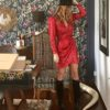 Celia Dragouni The Red Star Dress