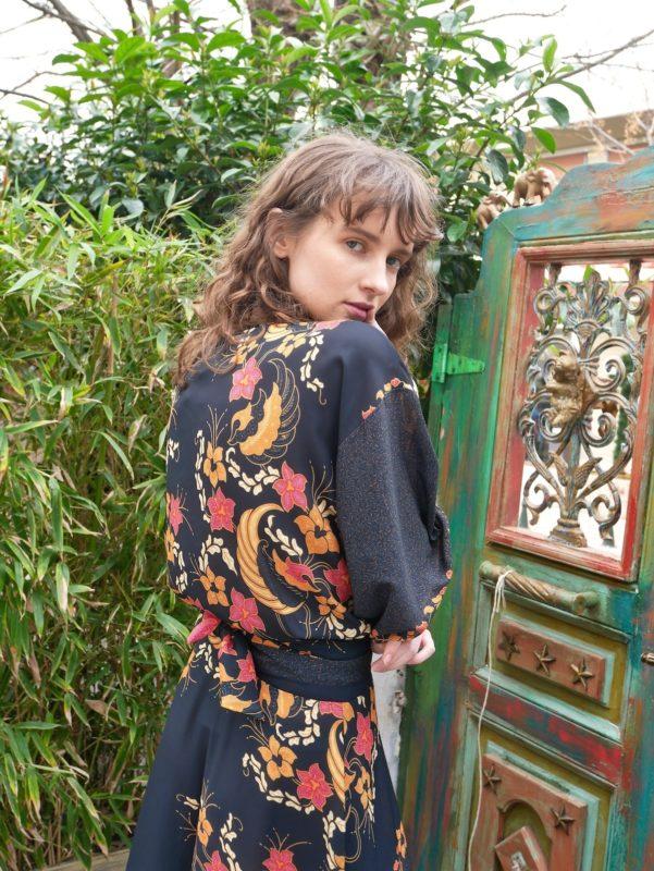 Celia Dragouni The Balinese Wrap Top