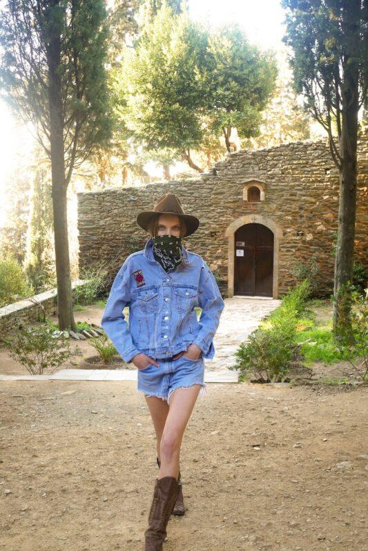Celia Dragouni The Cowboy Hat Jacket