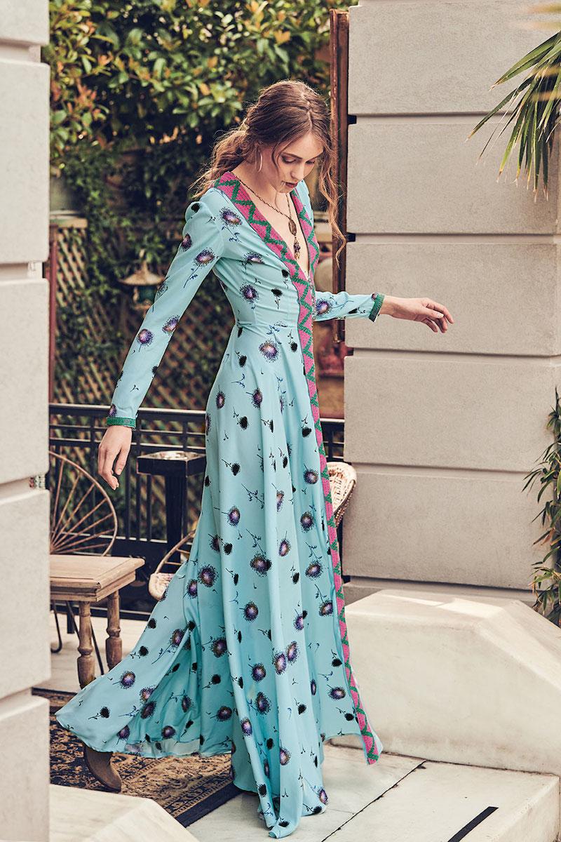 Celia Dragouni Turquoise Dandelion