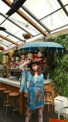 Celia Dragouni Balinese Kimono