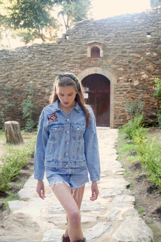 Celia Dragouni The Bandana Jacket
