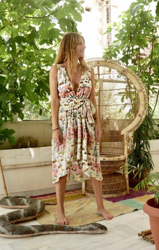 Celia Dragouni The Palm Tree Dress
