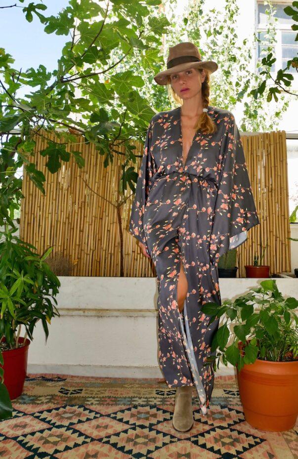 Celia Dragouni Grey Chinese Garden