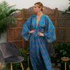 Celia Dragouni Blue Chinese Garden