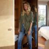 Celia Dragouni The Buffalo Star Army Jacket