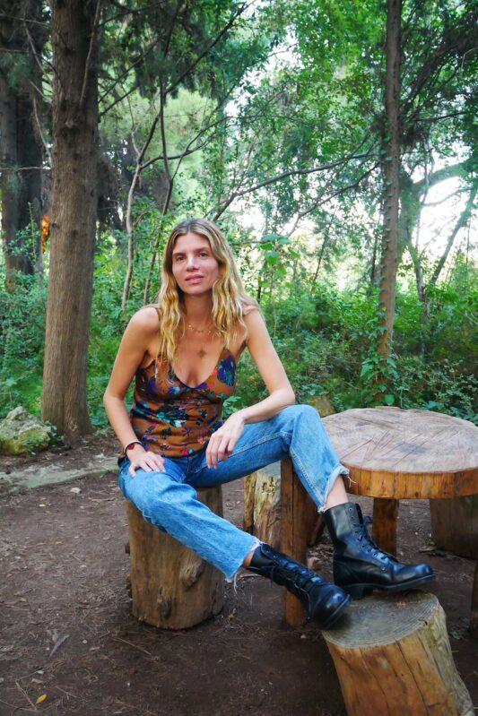 Celia Dragouni Frida Top