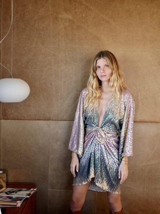 Celia Dragouni Dusty Disco Dress