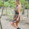 Celia Dragouni Frida Ruffled Dress