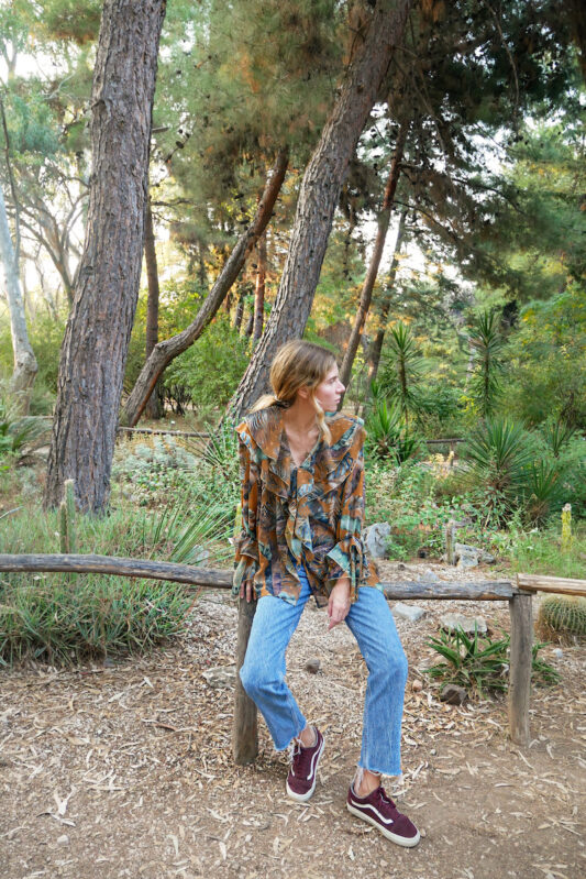 Celia Dragouni The Spaniola Tropical Shirt