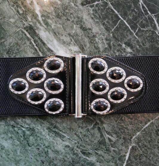 Celia Dragouni Black Stone Belt
