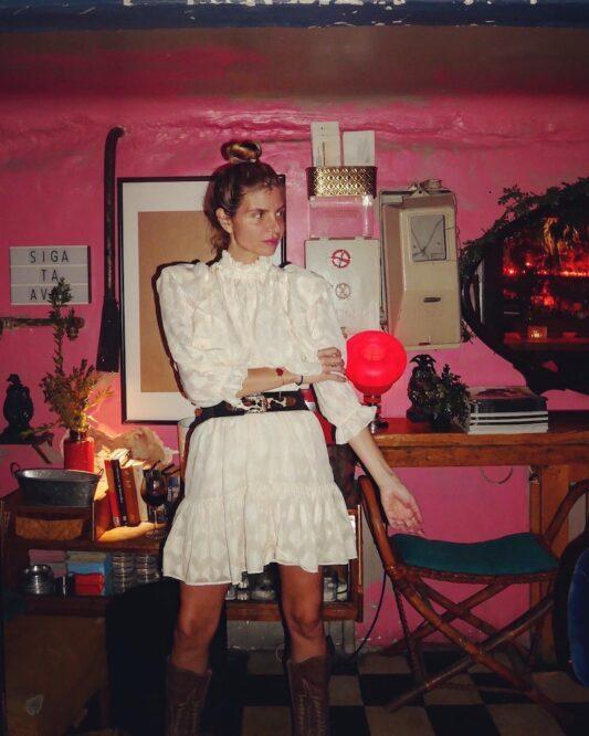 Celia Dragouni The Edwardian Champagne Dress