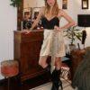 Celia Dragouni Silk Shawl Skirt