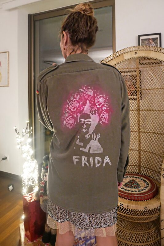 Celia Dragouni Frida Army Jacket