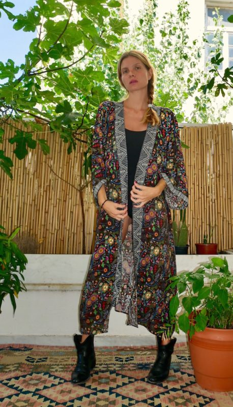 Celia Dragouni Jungle Circus Robe
