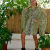 Celia Dragouni Retro Field Kimono