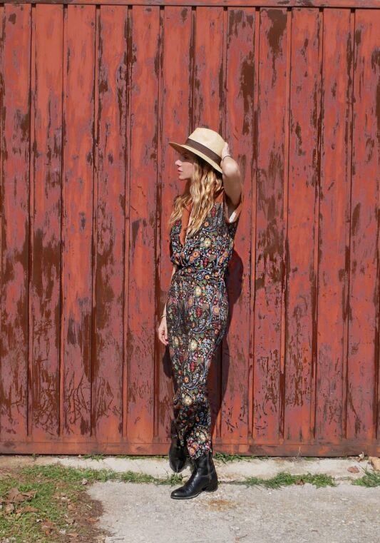 Celia Dragouni Jungle Circus Jumpsuit