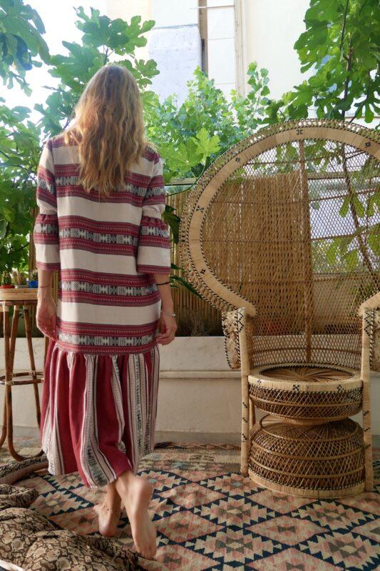 Celia Dragouni Afro Vibes Red Amazona