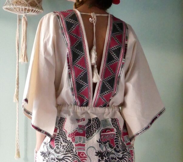 Celia Dragouni The Piasa Kaftan Dress