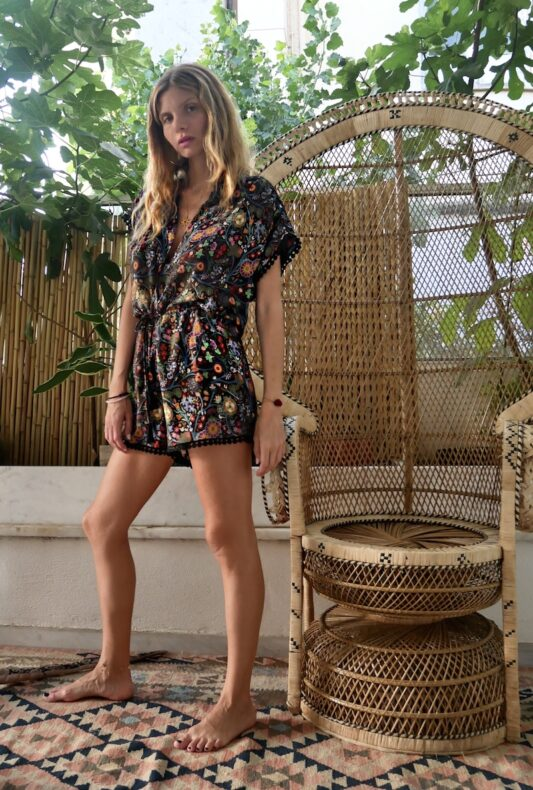 Celia Dragouni Jungle Circus Playsuit
