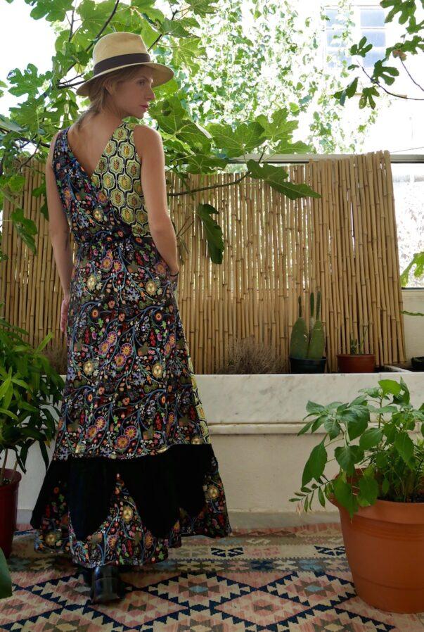 Celia Dragouni Dancing Colors Dress