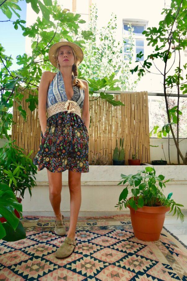 Celia Dragouni Jungle Circus Hippy Patchwork