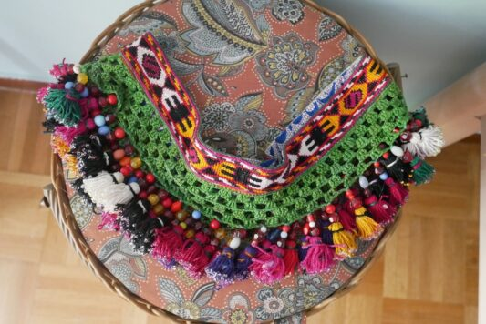 Celia Dragouni The Ethnic Tassel Belt