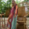 Celia Dragouni The Turquoise Eagle Moon Kimono Robe