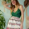 Celia Dragouni The Negligee Emerald Top