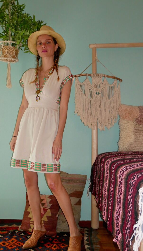 Celia Dragouni The Indiana Jones Dress