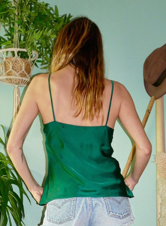 Celia Dragouni The Negligee Emerald Top