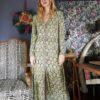 Celia Dragouni Retro Field Buttoned Dress
