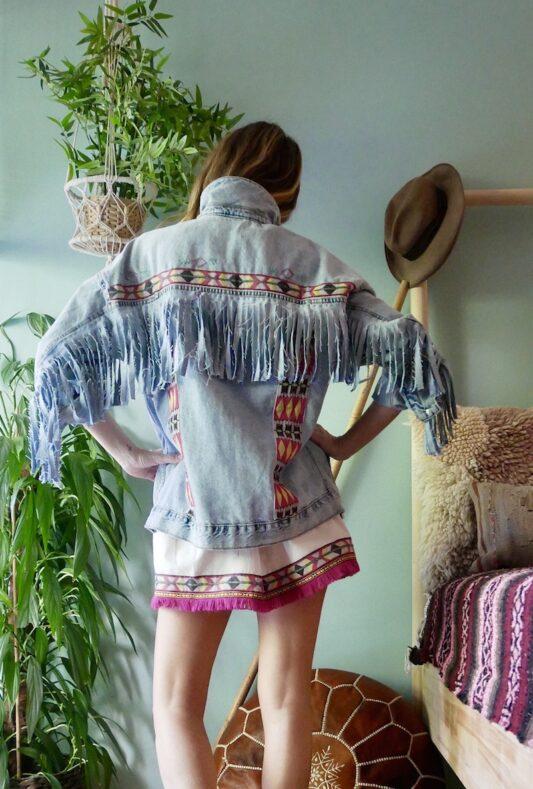 Celia Dragouni The Eagle Pink Mini Skirt