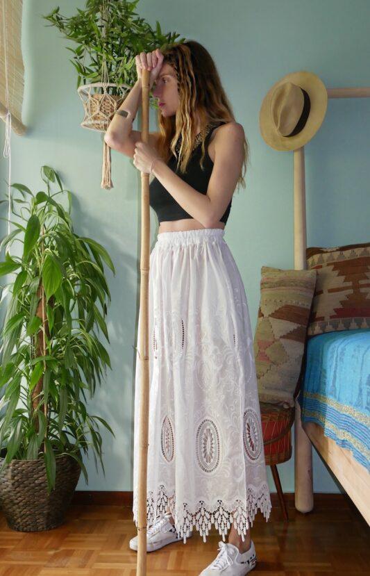Celia Dragouni The Grape Skirt