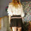 Celia Dragouni The Aztec Mini Skirt