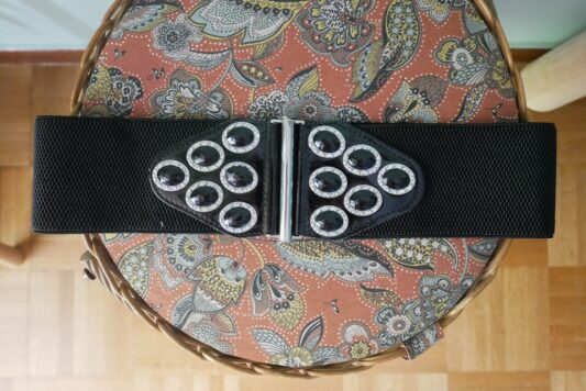 Celia Dragouni Black Stone Belt