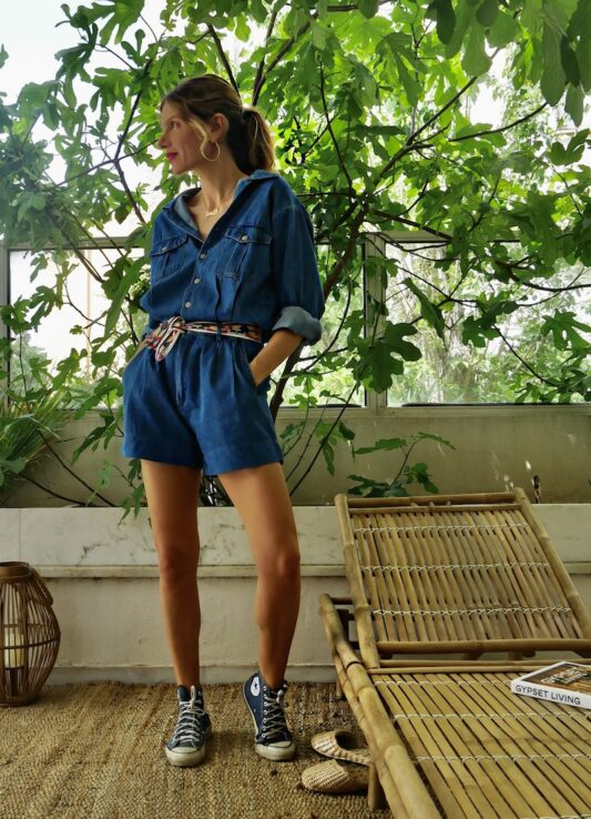 Celia Dragouni The Positano Playsuit