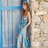 Celia Dragouni The Balinese Dancer Blue