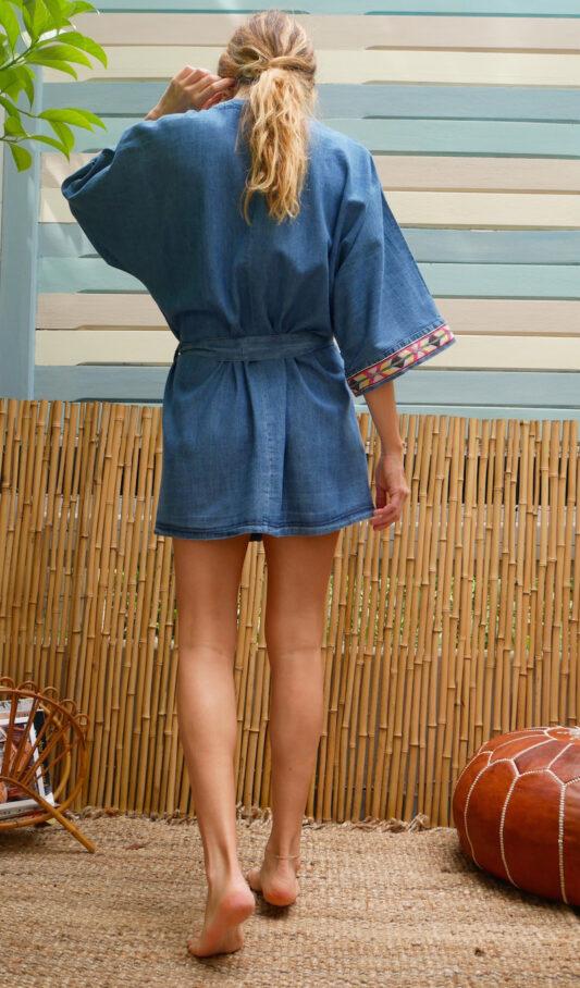 Celia Dragouni The Jeans Kimono Robe